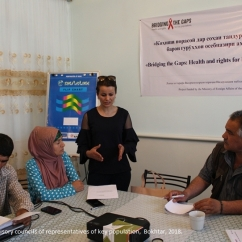 Advisory council of representatives of key population