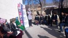 Лоиҳаи USAID оид ба барҳам додани бемории сил дар Осиёи Марказӣ барои гурӯҳҳои осебпазири аҳолӣ чорабиниҳои иттилоотӣ баргузор намуд